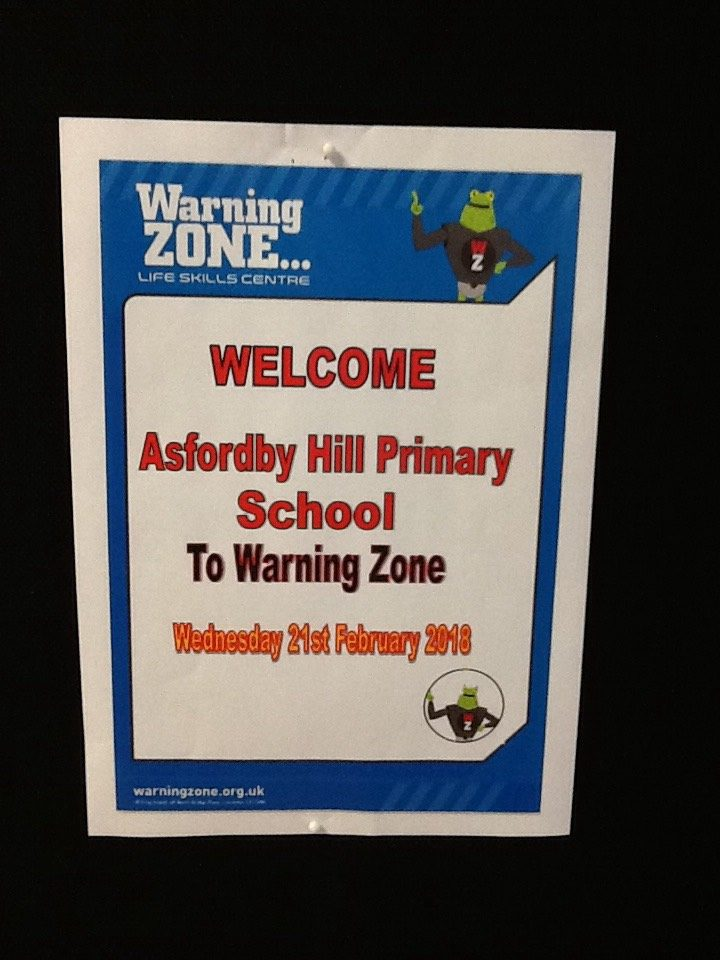 Informative Sch | An Informative Day Was Had By Us All At The Warning Zone Asfordby